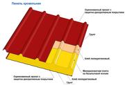 Сэндвич-панели  трехслойные с МВУ на базальтовой основе